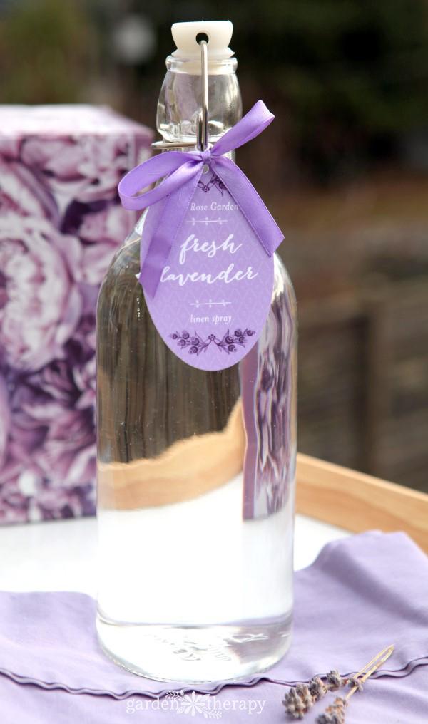 Homemade Lavender Linen Water