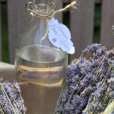 Lavender Linen Water Recipe and Printable Label