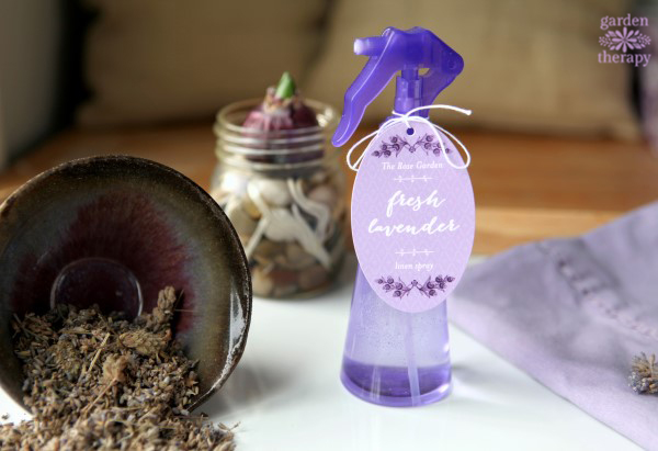 Lavender pillow spray