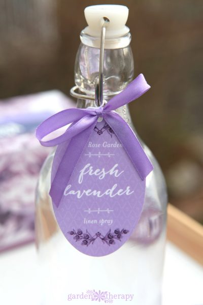 Lavender water recipe