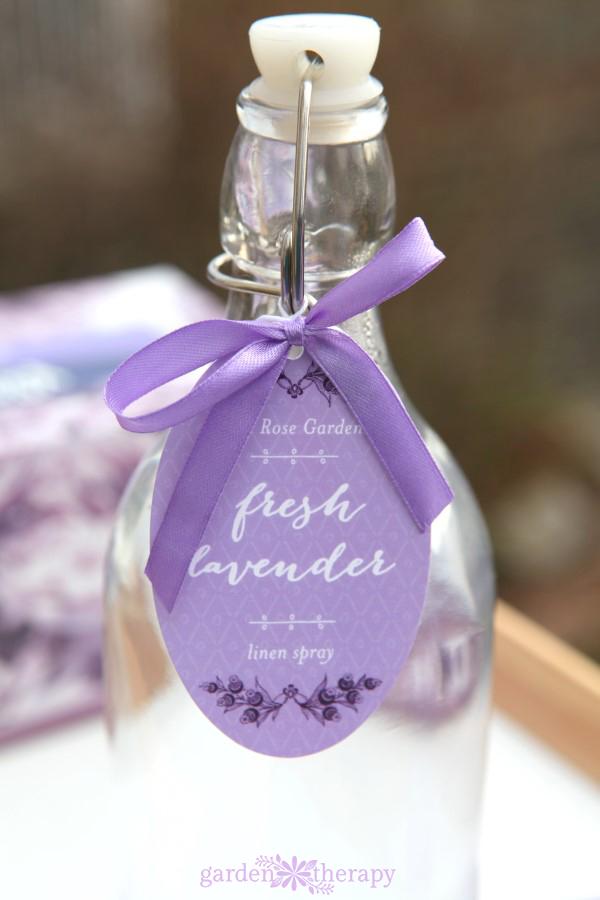 Lavender water recipe