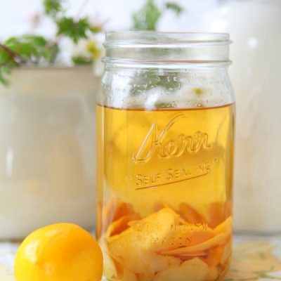 When Life Gives You Meyer Lemons Make Meyer Limoncello