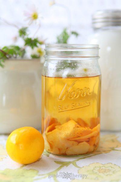 How to make Meyer lemon limoncello