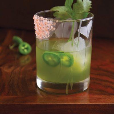 Gartending: Jalapeno and Cucumber Green Gargoyle