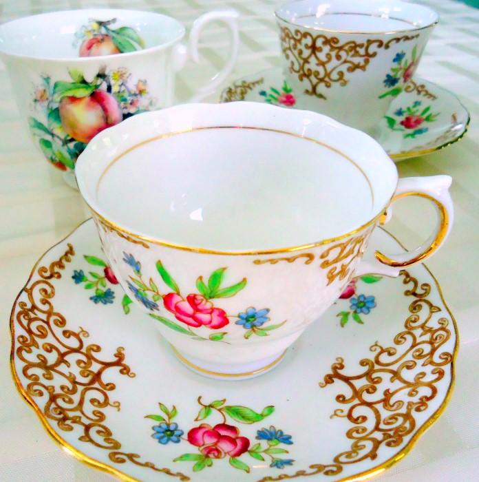 Vintage Tea Cups Part - 37: Vintage Teacups