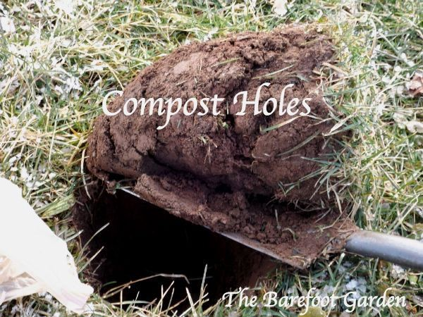 compost-holes-the-barefoot-garden