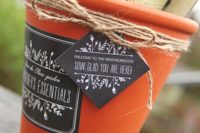 DIY Gardeners Gift Set Sow Glad You Are Here