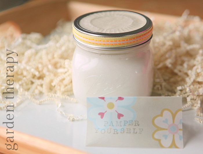Homemade Coconut Lotion Recipe