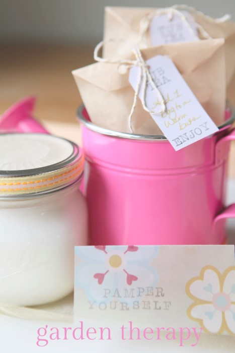 Homemade Bath and Body Gifts Kids Can Make - Garden Therapy
