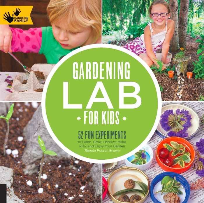Gardening Lab for Kids Book