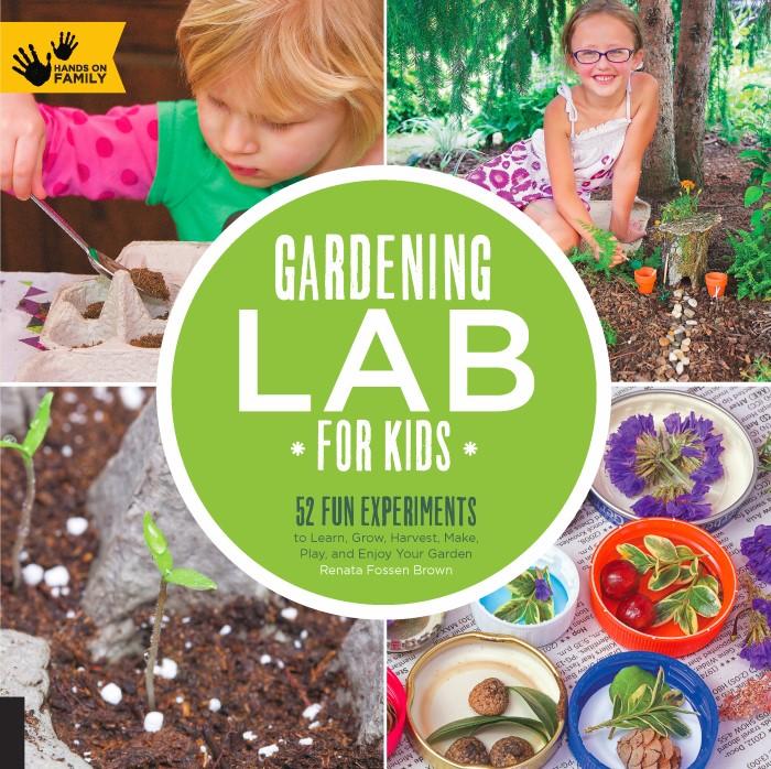 Gardening Lab for Kids Book