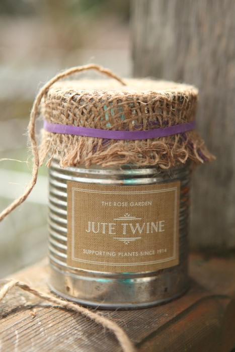 Garden Twine in a Can Garden Therapy