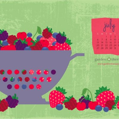 July's Free Printable Calendar