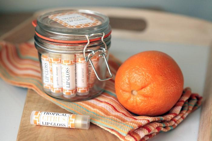 Tropical Citrus Lip Gloss Recipe