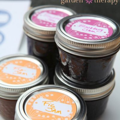Free Canning Labels: Berries Design