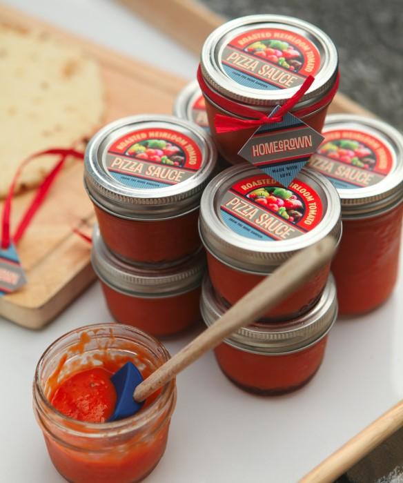 Roasted Heirloom Tomato Pizza Sauce