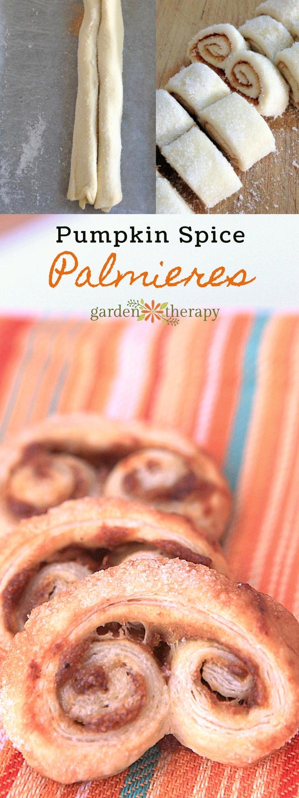Pumpkin Palmiers