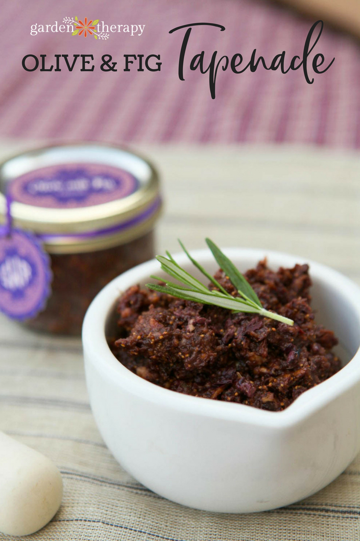 homemade tapenade