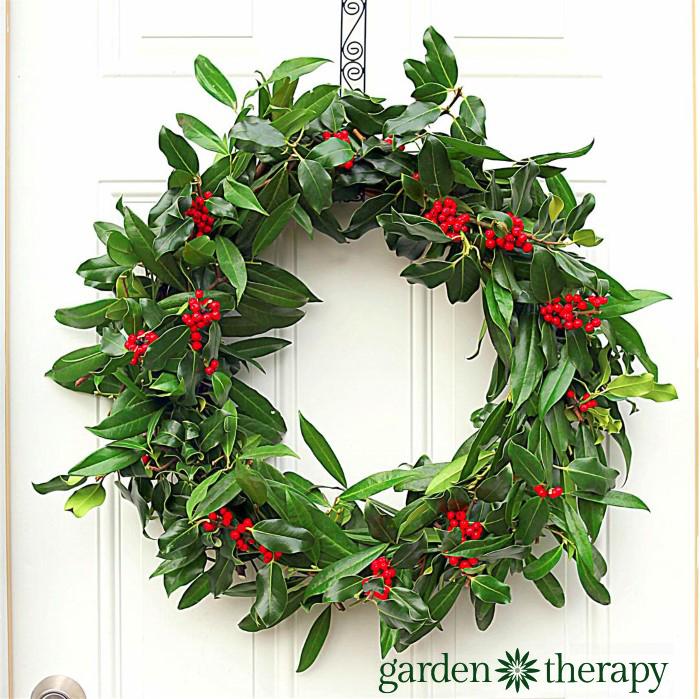 Holly Wreath DIY Project