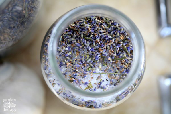 Lavender Bath Salts Handmade Gift Idea