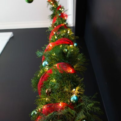 How to Make a Nine-Foot Grinch Tree