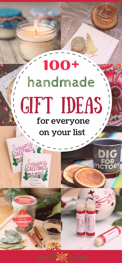 More than 100 Homemade Gift Ideas