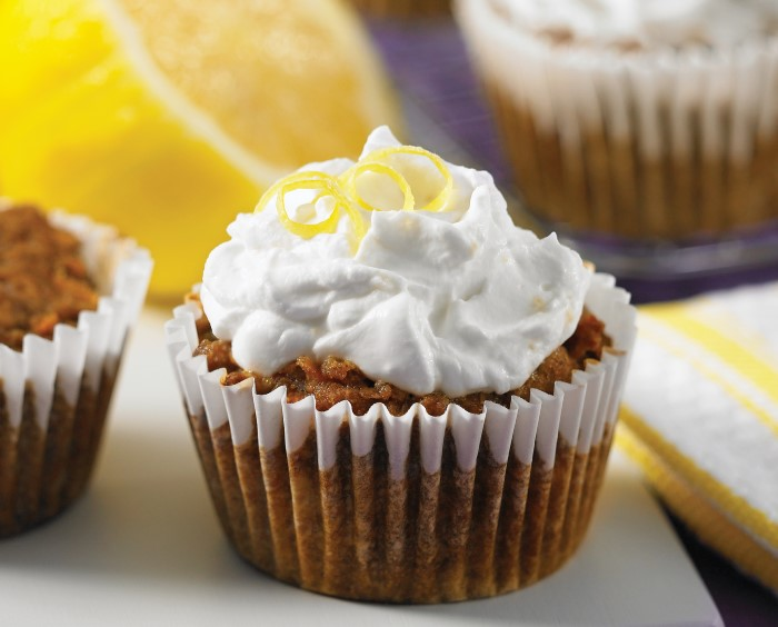 Gluten Free Dairy Free Nut Free Vegan Cupcakes That Even Have A Lemon Coconut Frosting