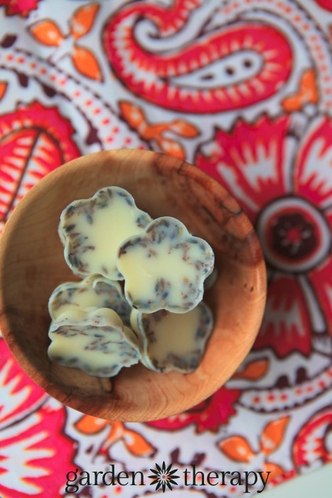 Easy To Make Lavender And Cocoa Butter Bath Melts