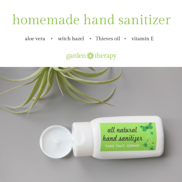 How to make all-natural hand sanitizer