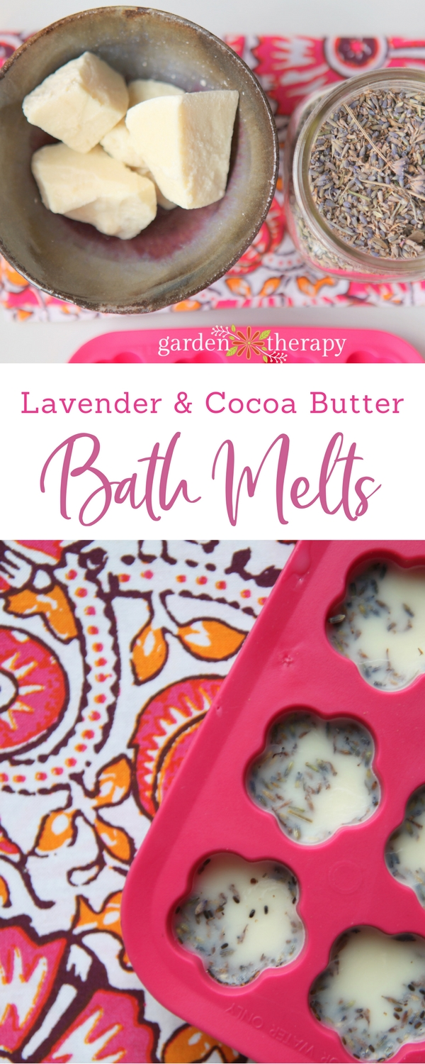 Lavender and Cocoa Butter Bath Melts Recipe