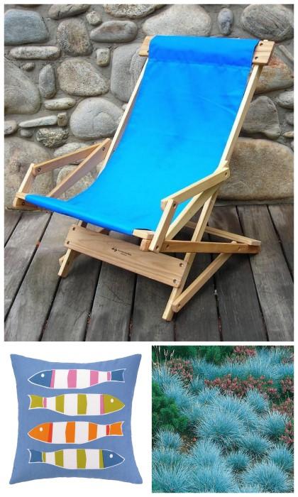 Creating a beach themed garden design