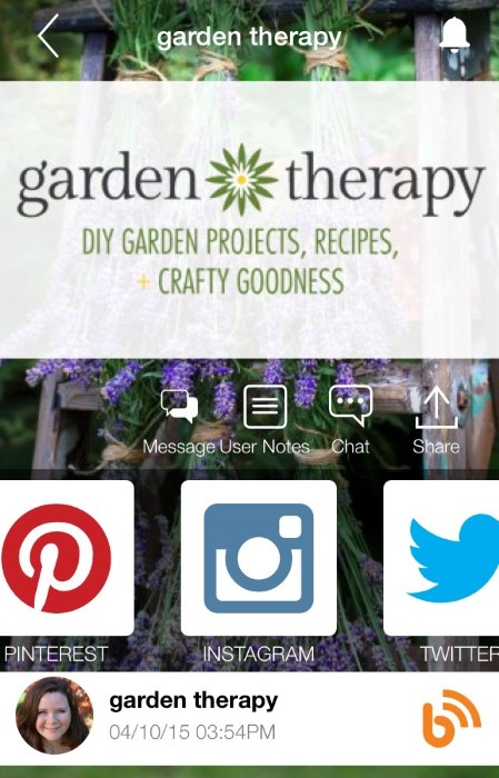 Garden Therapy on bHome app