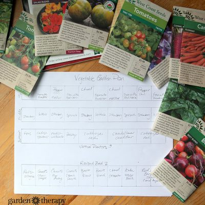 Designing the Vegetable Garden: How to Make a Garden Map