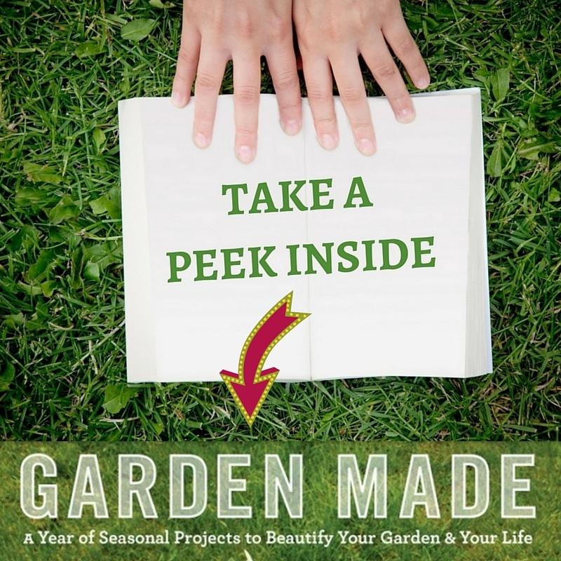 Sneek Peek into Garden Made