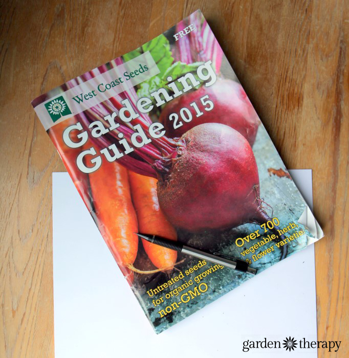 West Coast Seeds Catalog for Garden Planning
