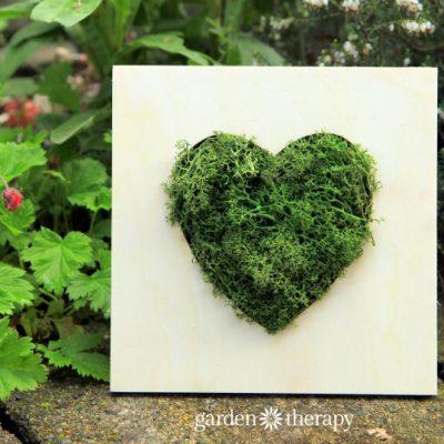 I Heart Moss Frame