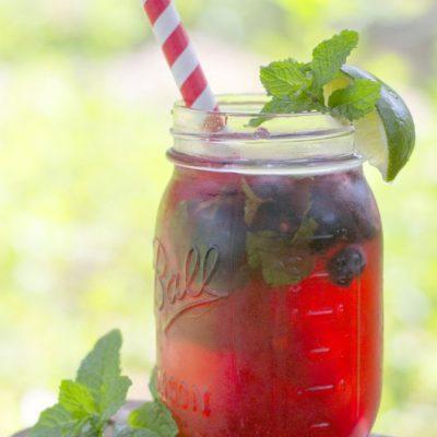 Triple Berry Rum Fizz