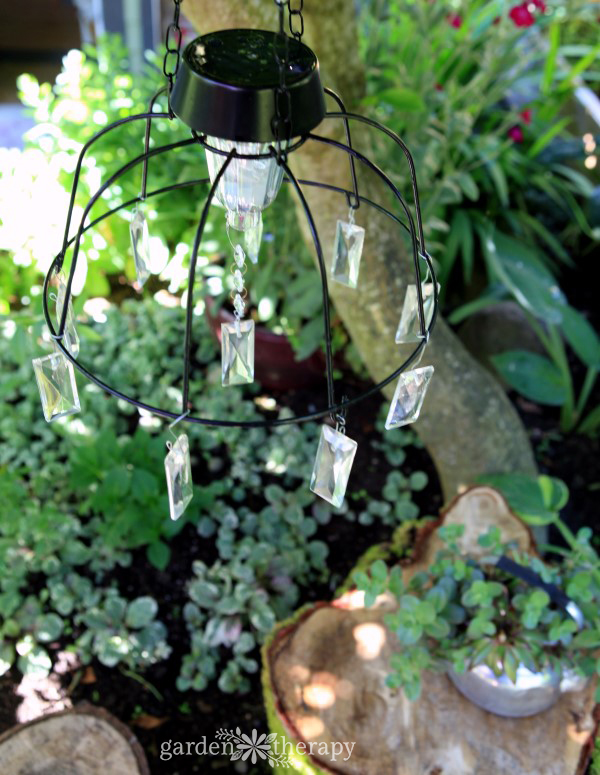 Fairy Garden Solar Light Idea