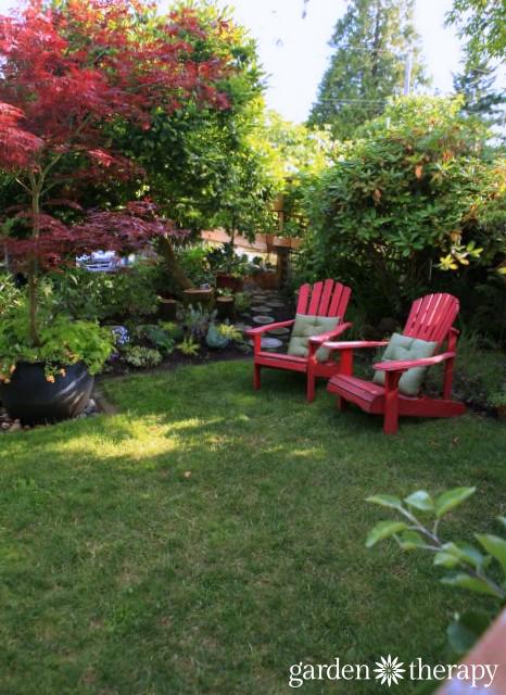 Garden Therapy Back Yard Play Garden Tour (14)