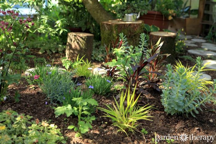 Garden Therapy Back Yard Play Garden Tour (9)