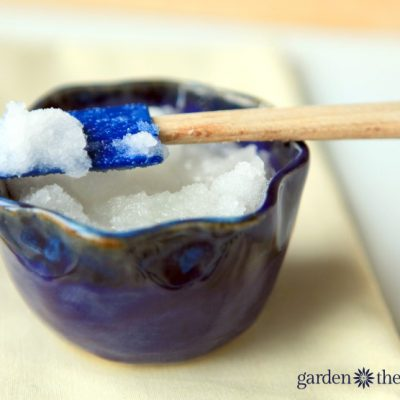 Heavenly Coconut Oil Sugar Scrub