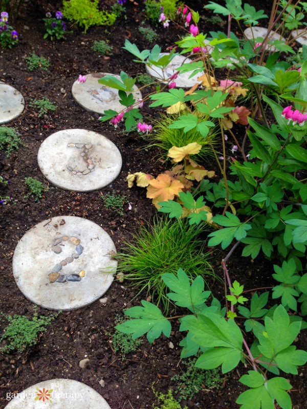 Hopscotch Garden Stepping Stones