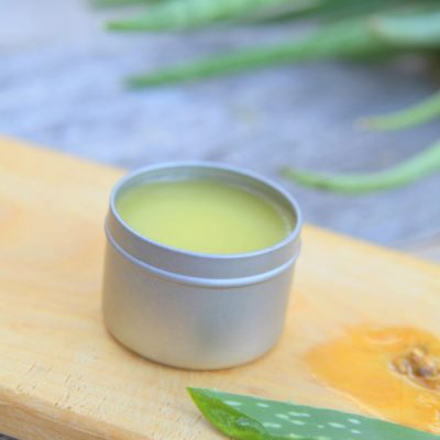 Homemade After-Sun Salve Recipe