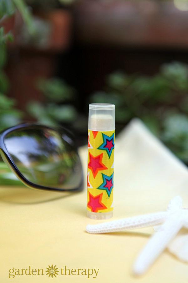 Fun in the Sun with this soothing after-sun lip balm