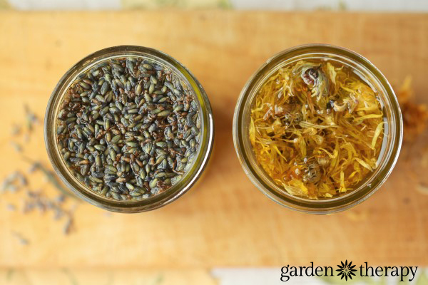 Infusing Oils With Herbs