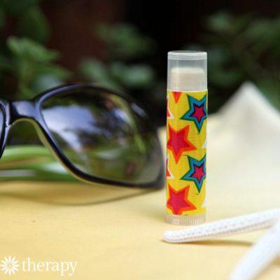 Healing After-Sun Lip Balm Recipe