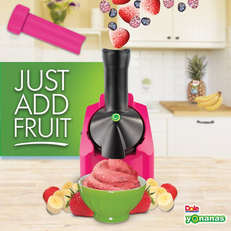 Yonanas soft serve fruit machine