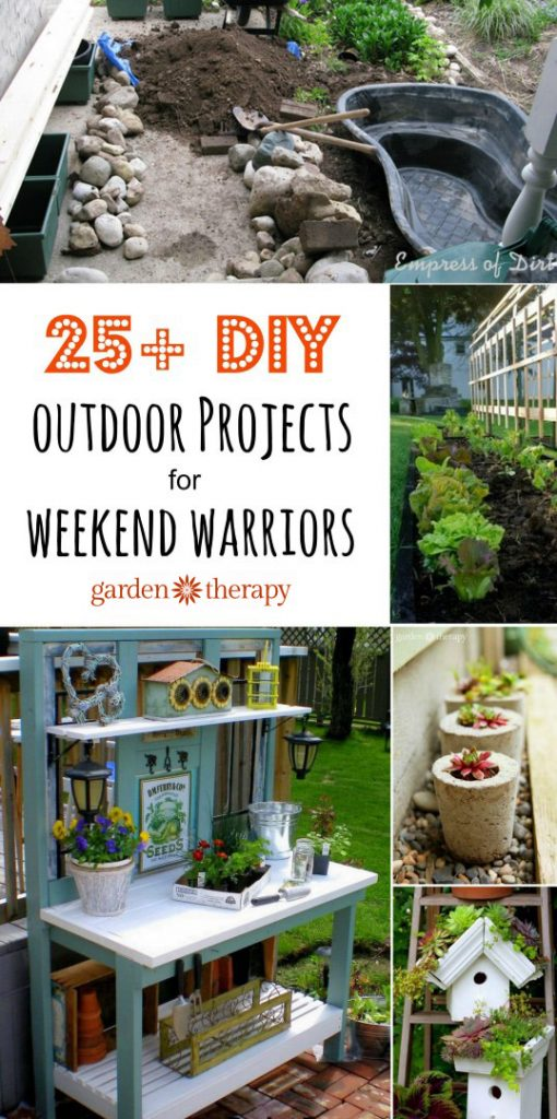 25 Diy Outdoor Projects To Tackle This Weekend