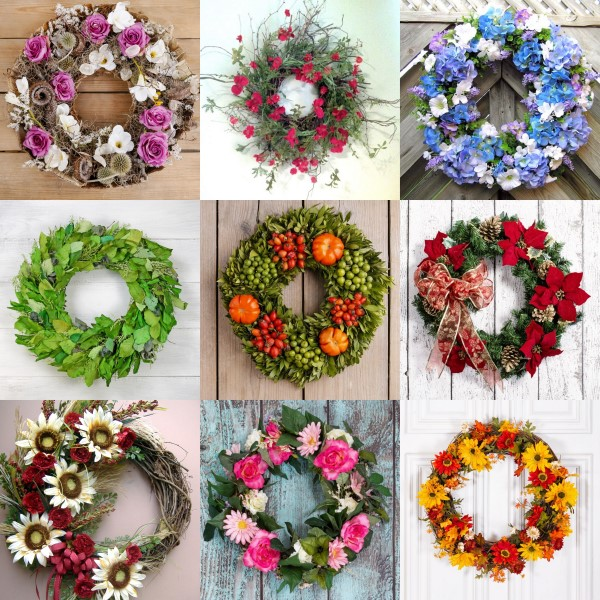 Make A Wreath For Any Season