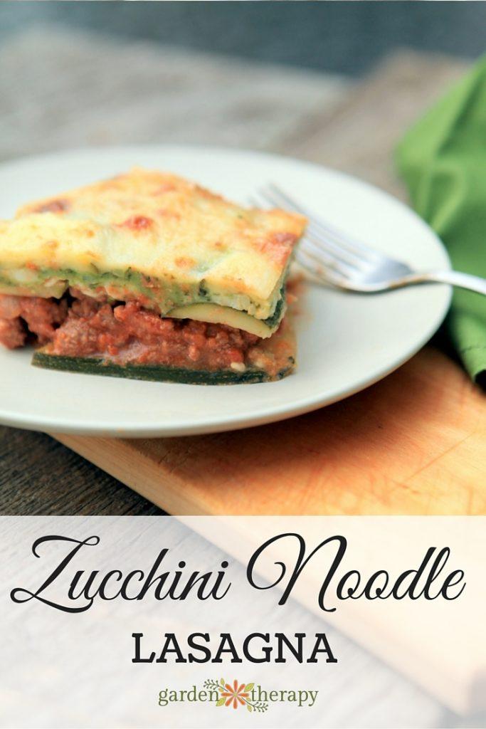Gluten free grain free low carb lasagna recipe